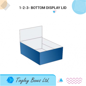 1-2-3 BOTTOM DISPLAY LID