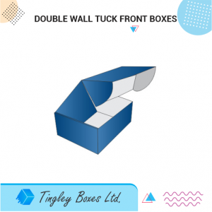 DOUBLE WALL TUCK FRONT BOXES