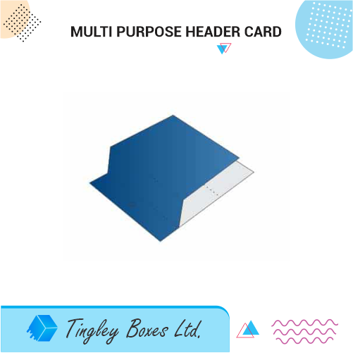 MULTI PURPOSE HEADER CARD
